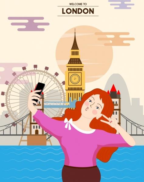 woman in London